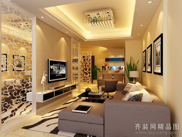 123平米普通户型现代简约家装装修图片设计-宁波齐装