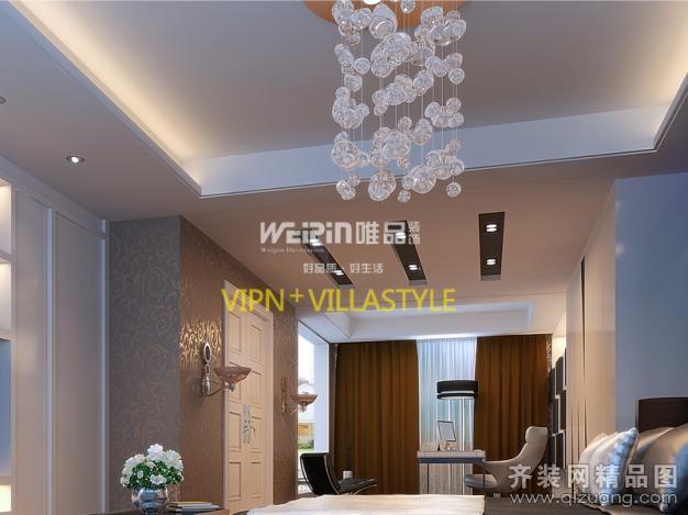 275平米别墅现代简约家装装修图片设计-南通齐装网