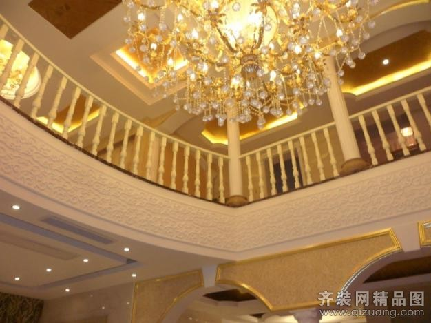 360平米别墅欧式风格家装装修图片设计-吴江齐装网