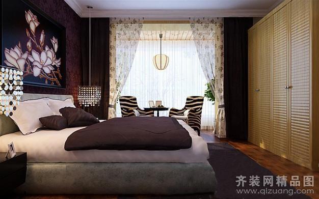 110平米普通户型现代简约家装装修图片设计-青岛齐装