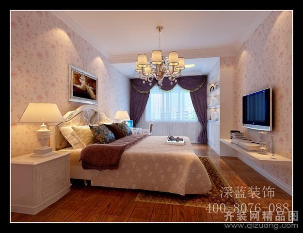 140平米普通户型欧式风格家装装修图片设计-无锡齐装