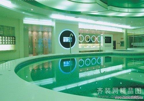 洗浴中心现代简约装修效果图实景图