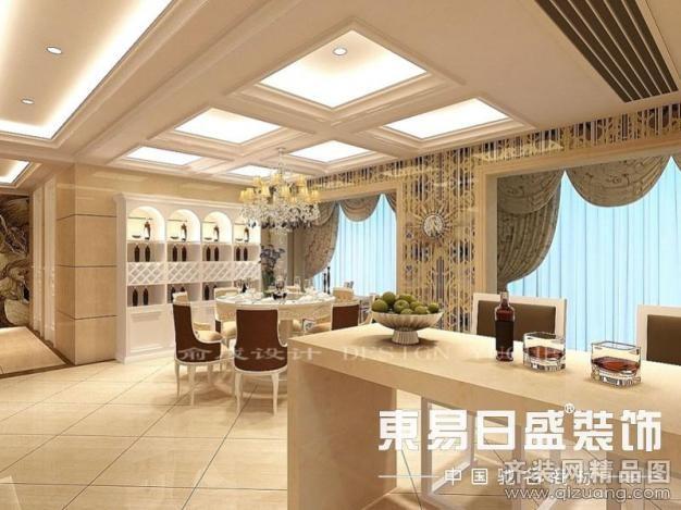 180平米跃层户型欧式风格家装装修图片设计-常州齐装