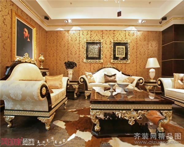 【美的家装饰】英伦世家--欧式欧式风格装修效果图实景图