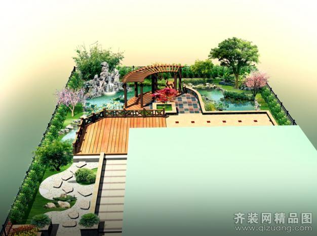 400平米别墅欧式风格家装装修图片设计-江阴齐装网