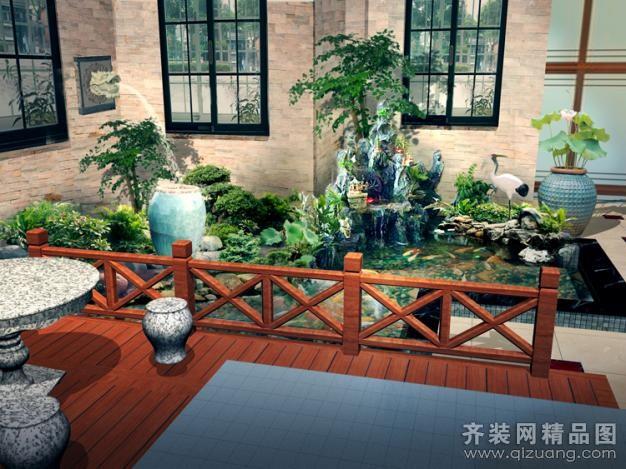 锦绣庄园别墅景观设计