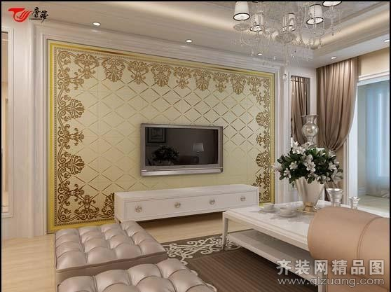 电视背景墙集锦2现代简约装修效果图实景图