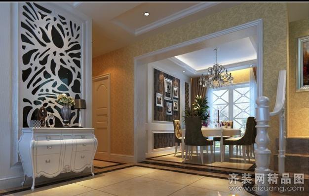 168平米跃层户型欧式风格家装装修图片设计-杭州齐装
