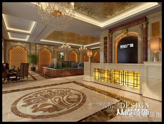 宿迁世纪广场售楼部欧式风格装修效果图实景图