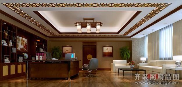 銀飾展廳中式風格裝修效果圖實景圖