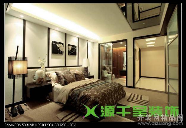 120平米普通户型现代简约家装装修图片设计-无锡齐装