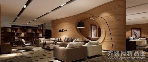 家具店面装饰现代简约装修效果图实景图