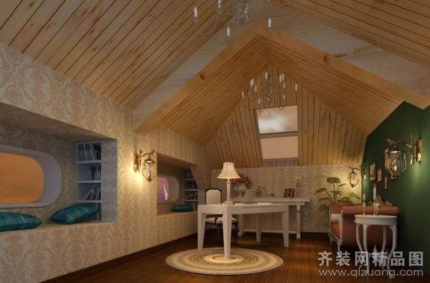 220平米复式户型现代简约家装装修图片设计-杭州齐装