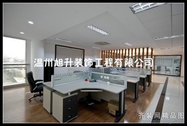 瞿溪眼镜企业办公室现代简约装修效果图实景图