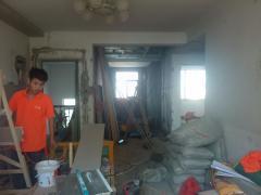 边防公寓施工现场