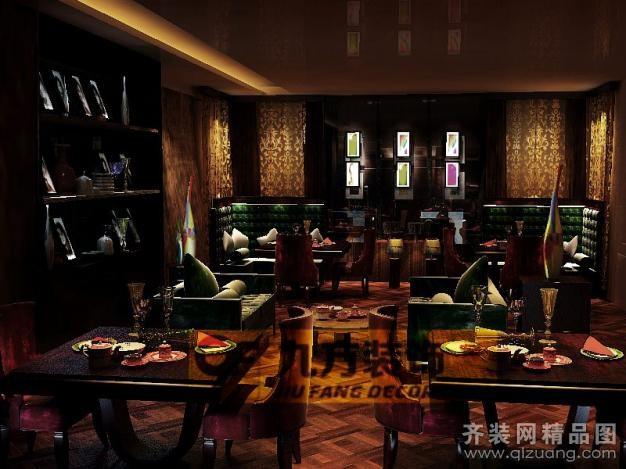 酒吧美式风格装修效果图实景图图片