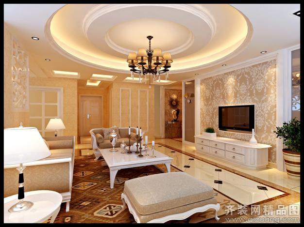 127平米普通户型欧式风格家装装修图片设计-杭州齐装