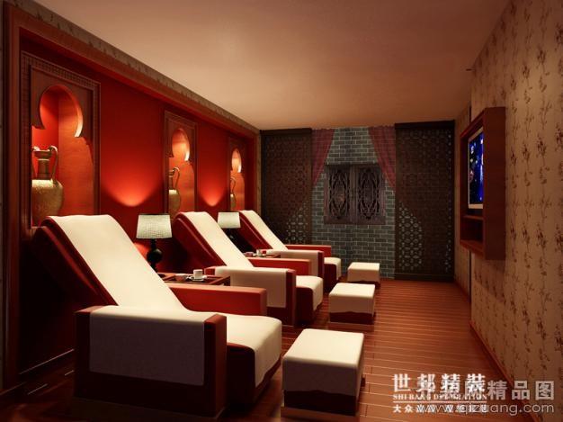 1500平米普通户型中式风格家装装修图片设计-杭州齐