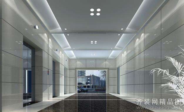 杭州公安局办公楼1200平米普通户型现代简约家装装修