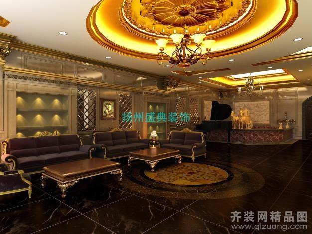 150平米普通户型欧式风格家装装修图片设计-扬州齐装