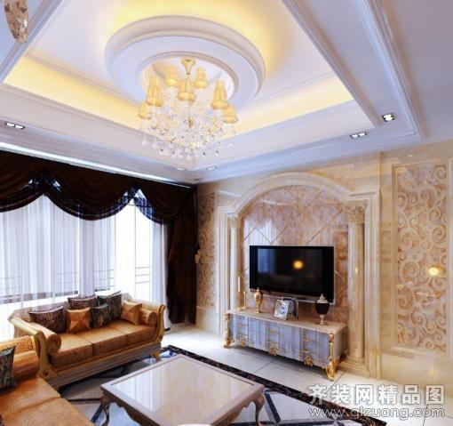 125平米普通户型欧式风格家装装修图片设计-吴江齐装