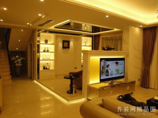 670平米别墅欧式风格家装装修图片设计-广州齐装网