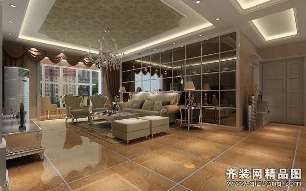 315平米别墅欧式风格家装装修图片设计-杭州齐装网