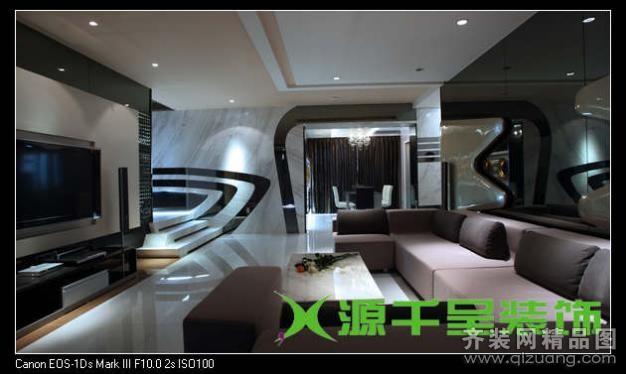 样板房现代简约装修效果图实景图