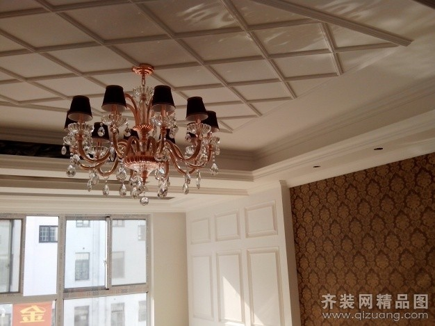 220平米别墅欧式风格家装装修图片设计-连云港齐装网
