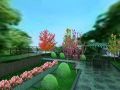 晓港名城室外花园