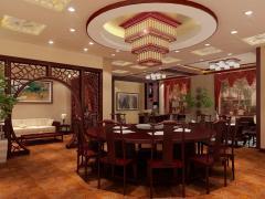 中式风格餐饮店铺
