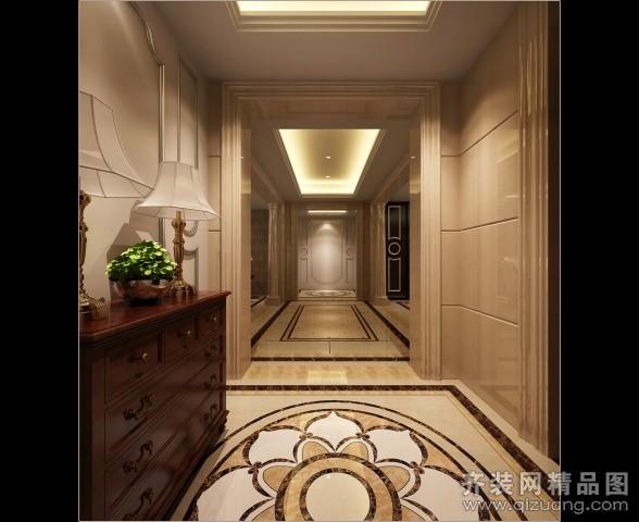 180平米别墅欧式风格家装装修图片设计-南京齐装网