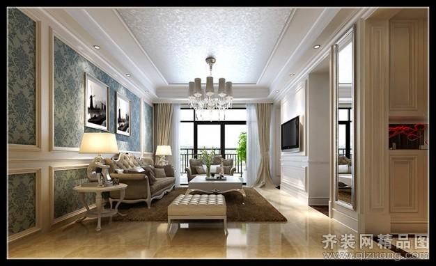 140平米普通户型欧式风格家装装修图片设计-苍南齐装