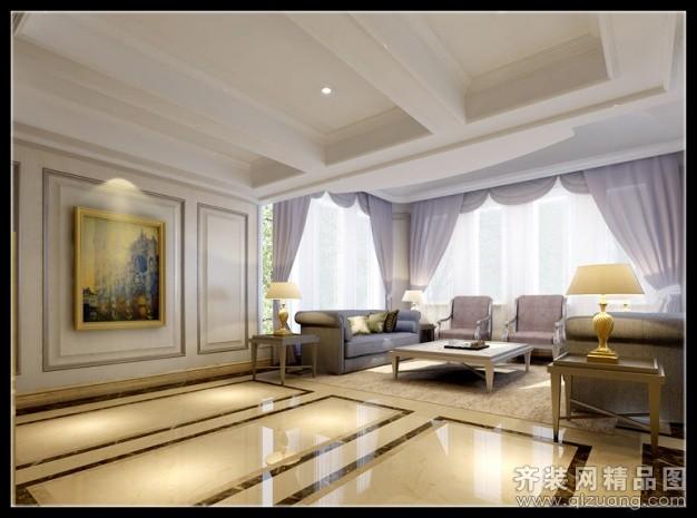 280平米别墅欧式风格家装装修图片设计-苍南齐装网