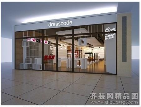 200平方服装店设计图