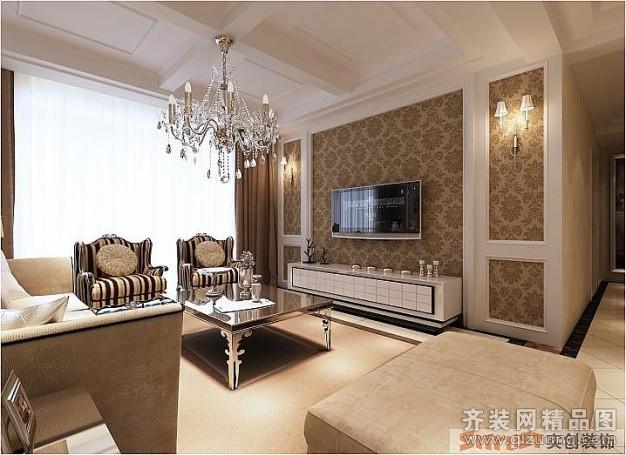 145平米普通户型欧式风格家装装修图片设计-郑州齐装