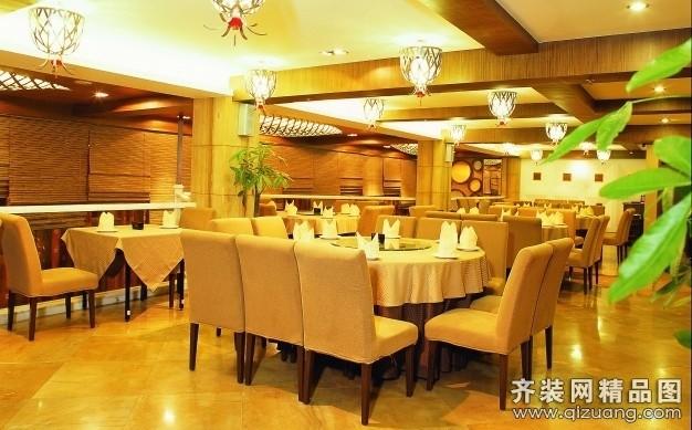 餐馆欧式风格装修效果图实景图