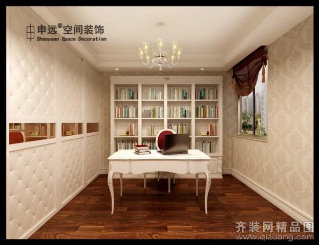 113平米普通户型欧式风格家装装修图片设计-无锡齐装