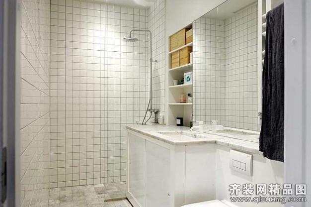 和乔丽晶公寓现代简约装修效果图实景图