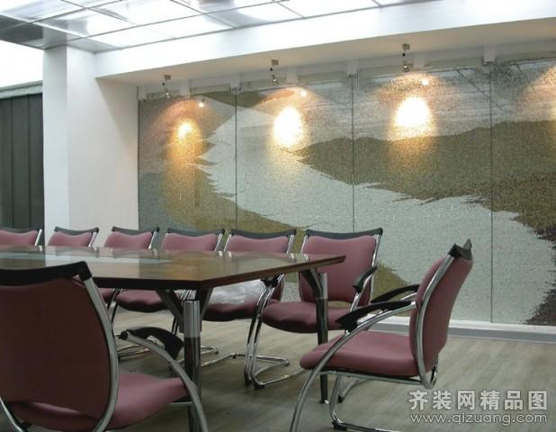 公司楼层现代简约装修效果图实景图