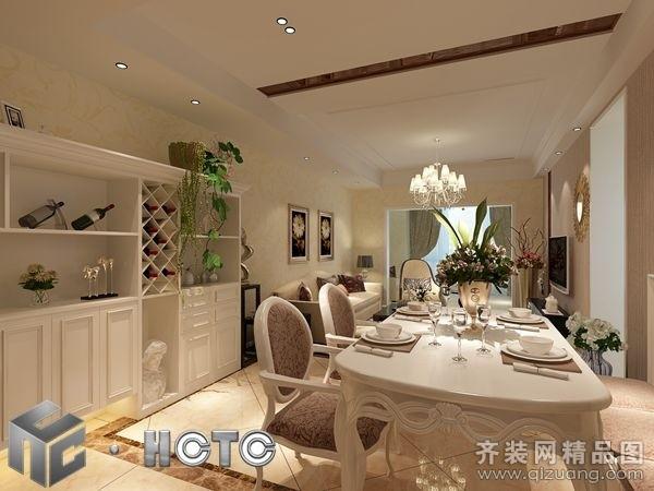 300平米复式户型欧式风格家装装修图片设计-绵阳齐装
