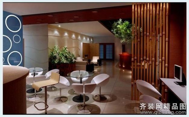 spa会馆现代简约装修效果图实景图