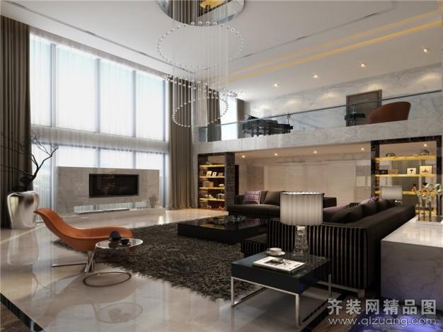 640平米别墅欧式风格家装装修图片设计-厦门齐装网
