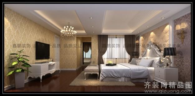 319平米别墅欧式风格家装装修图片设计-苏州齐装网