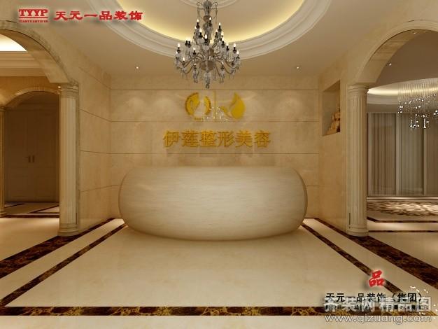 800平米普通户型欧式风格家装装修图片设计-郑州齐装