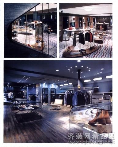上海时装专卖店设计
