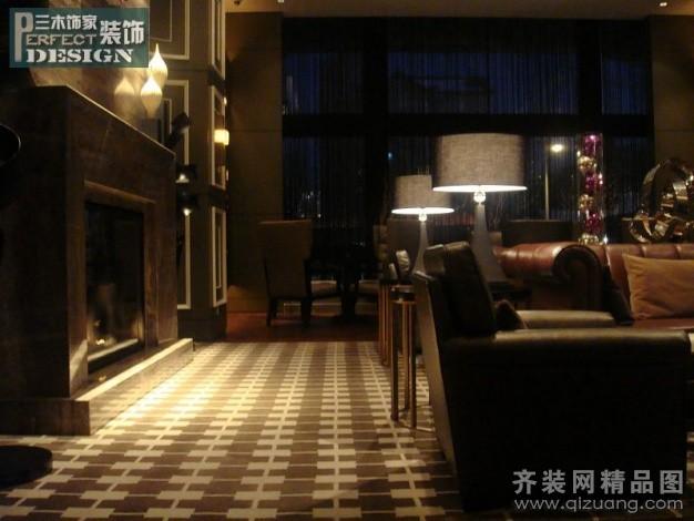 夜色酒吧现代简约装修效果图实景图