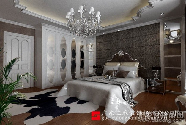 193平米复式户型欧式风格家装装修图片设计-扬州齐装