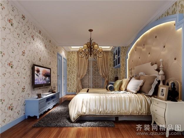 125平米普通户型欧式风格家装装修图片设计-福州齐装