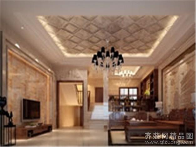 135平米复式户型欧式风格家装装修图片设计-长乐齐装